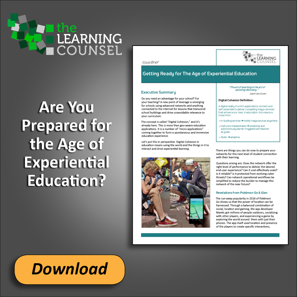 Learning Counsel Workbook | the Learning Counsel