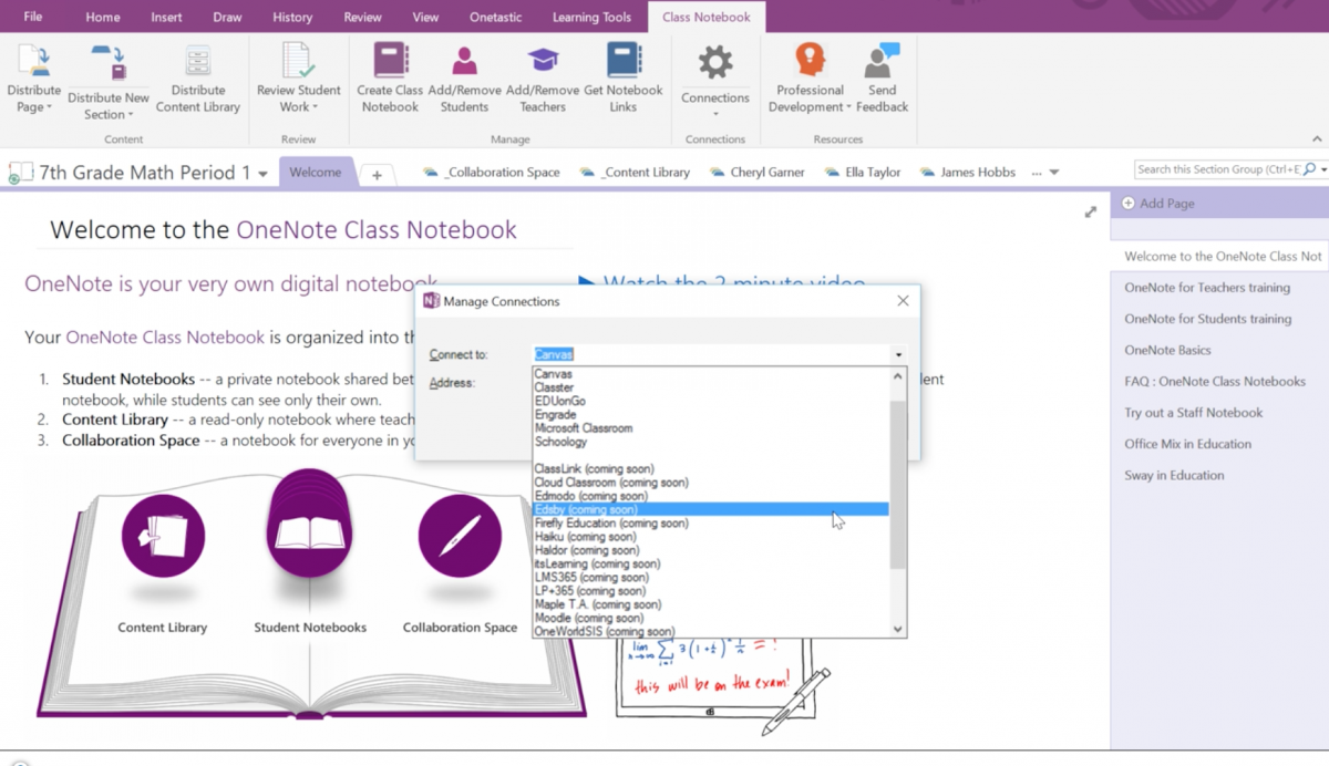 OneNote adds new add-in's again to their preeminent killer